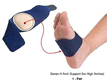87b75d241f Arch Support Series H for High Arches, Best Cushioned Pain Relief for  Plantar Fasciitis,