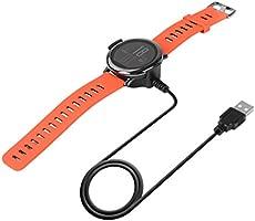MagiDeal USB Cargador de Reloj Inteligente Cable con Función de Carga Transferencia de Datos para Huami Amazfit