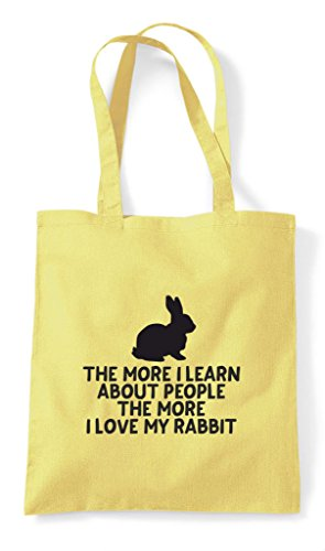 Lover My Love Pets Tote Bag Animal Lemon More I Rabbit About Learn Funny The Shopper Person People wHRqfxv