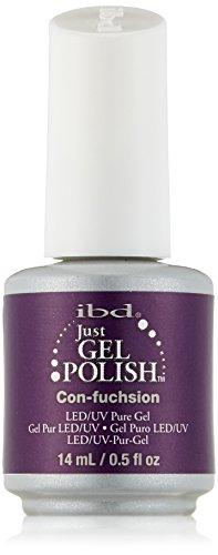 IBD Just Gel Nail Polish, Con-Fuchsion, 0.5 Fluid Ounce