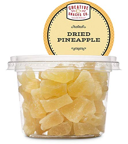 Creative Snacks Dried Pineapple Cup 10 OZ (Pack of 12)