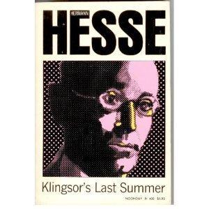 Klingsor's Last Summer 0330237349 Book Cover