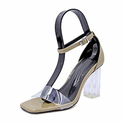 Dony heels rough sandals in eight summer High Thirty heels and heel high qrqUwZIR5S