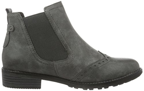 Marco Tozzi 25306, Botas Chelsea para Mujer Gris (GREY ANTIC 212)