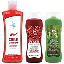 Shampoo de Chile Shelo NABEL Hair Growth Stimulating (Unisex) Anti Hair Loss with Natural