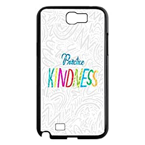 Samsung Galaxy N2 7100 Cell Phone Case Black Practice Kindness SUX_015062