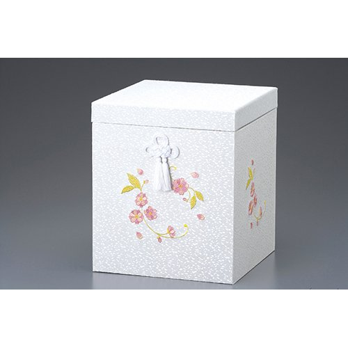 骨壷 桜刺繍骨箱 7寸壷用 [7寸壷用] 供養 お盆 お彼岸 仏具 B00MF99316
