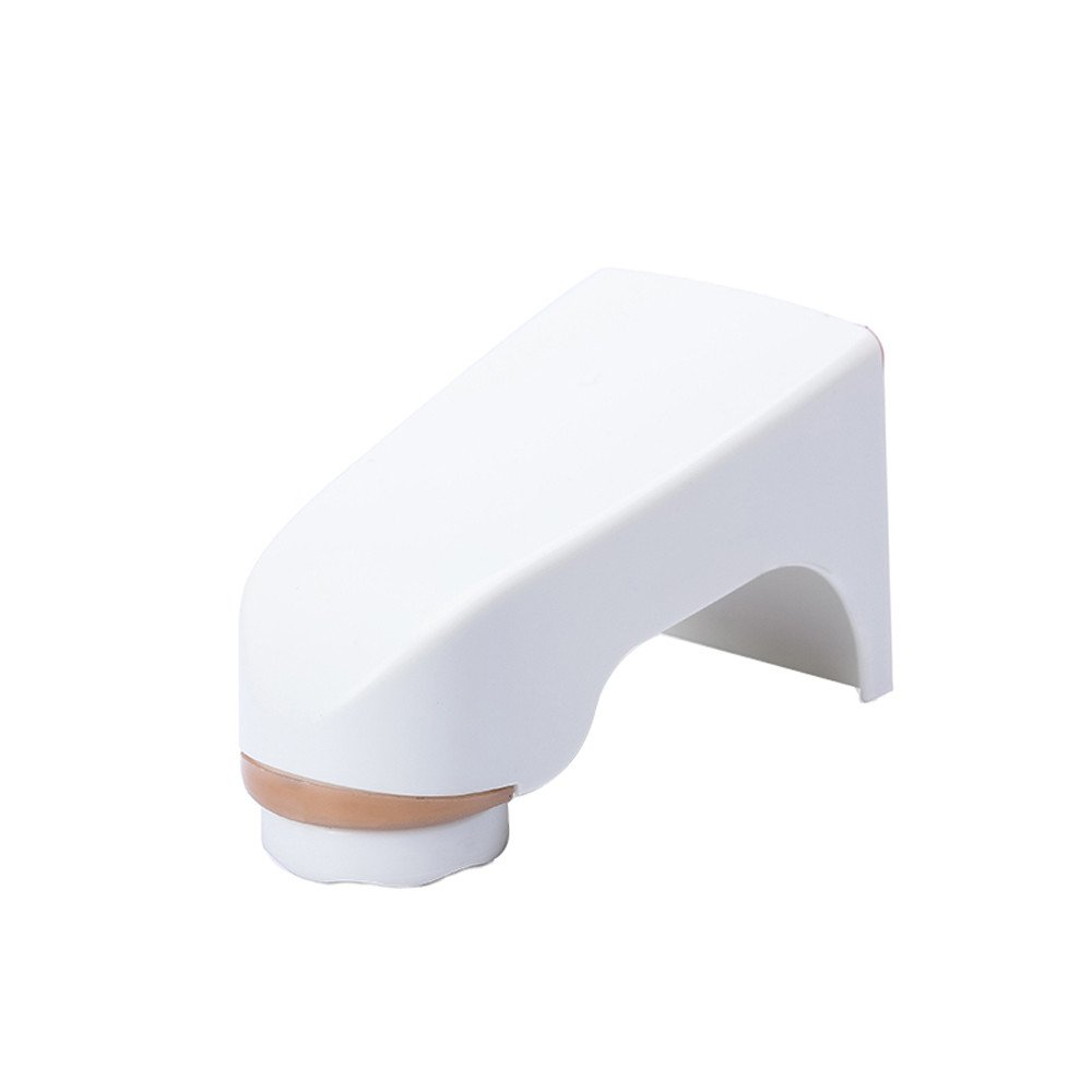 LiPing Bathroom Shelf Magnetic Soap Holder Prevent Rust Dispenser Adhesion Wall Attachment Dishes Accessories Decorations (White)