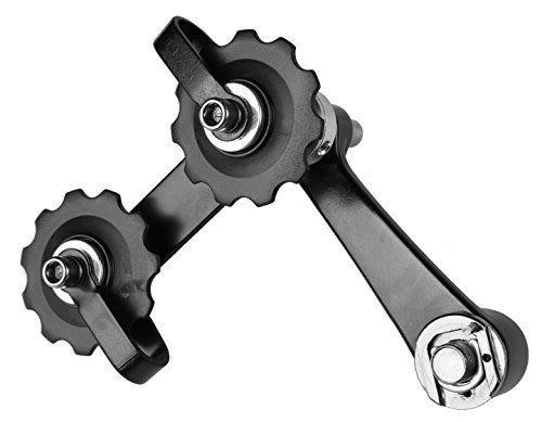CyclingDeal MTB Road Bike Bicycle Aluminum Chain Tensioner Black by CyclingDeal (Image #3)