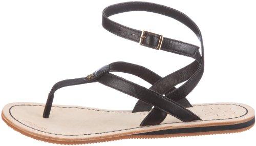 flip flop lea sling 2, Damen Sandalen, Schwarz (000 black), 38 EU