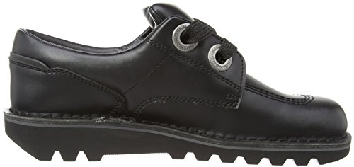 AM Leather Largit Kick Shoes Lo Mens Black Kickers BwIqnpXUI