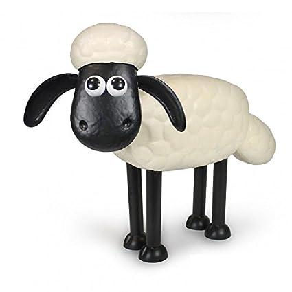 Solarfigur Wackelfigur /»Shaun the Sheep/« beweglich Solarbetrieben 14cm