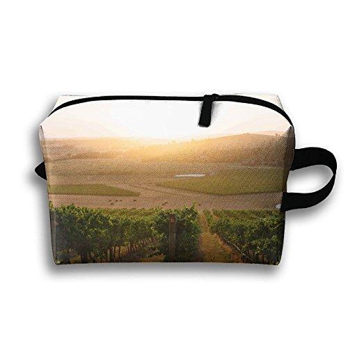 (Australian Wines Yarra Valley Winery Cosmetic Travel Cases Makeup Handbag Power Lines Bag)