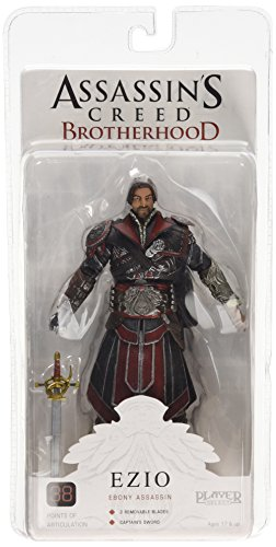 Assassins Creed 7-inch Brotherhood Ezio Unhooded Figure (ebony) - Official Assassin's Creed Costume