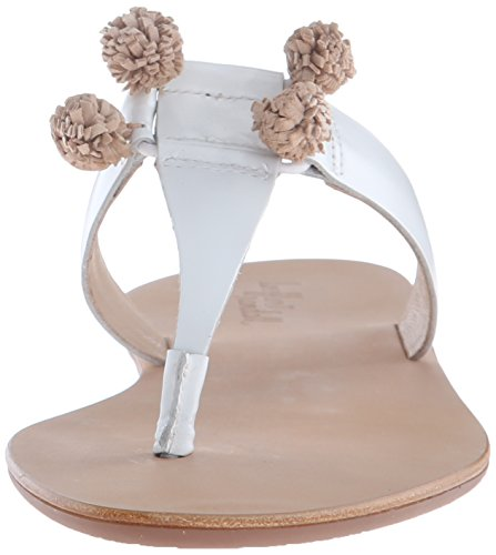 Flat Women Loeffler Wheat Randall White Sosie Vacs Sandal Cwqx4qI5