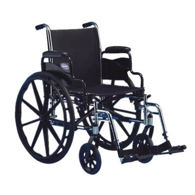 Invacare Tracer SX5 Wheel chair w/ Removable Foot/plate b...