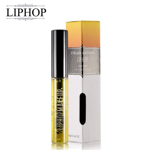 ChicChillShop Liphop Professional Women Makeup Brand Powerful Eyelash Growth Treatment Liquid Serum Enhancer Eye Lash Longer Thicker 7-15 days from LIPHOP