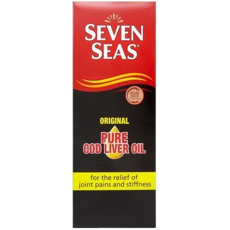 Seven Seas Original Pure Cod Liver Oil Liquid 450ml by Seven Seas
