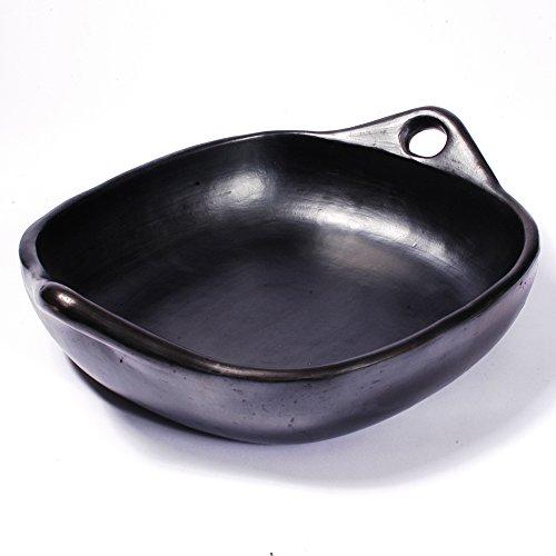 Black Clay, La Chamba Square Roasting Pan - Small