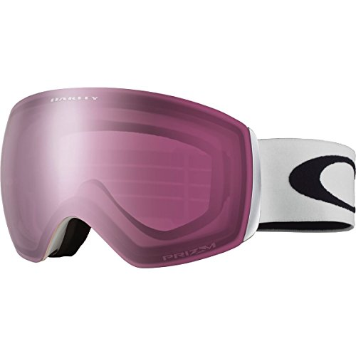 Oakley OO7064-02 Flight Deck XM Eyewear, Matte White, Prizm Rose - Oakleys Store