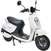 VELECO Scooter eléctrico Adulto E-Scooter 1200W Retro Vespa