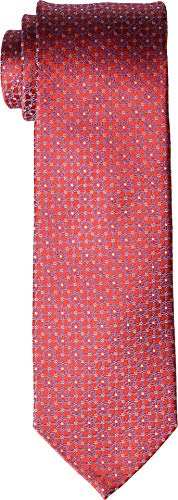 - Eton Mens Floral Medallion Tie Red One Size