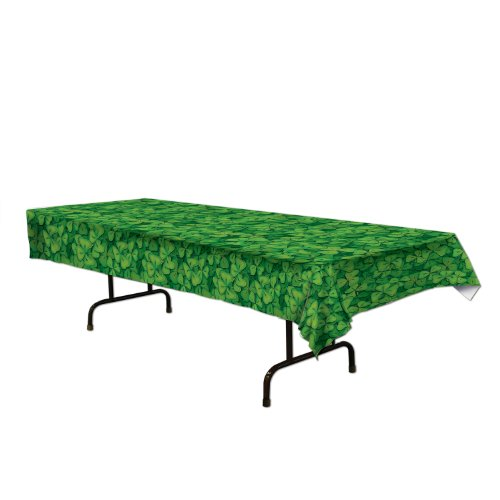 Beistle Shamrock Tablecover -