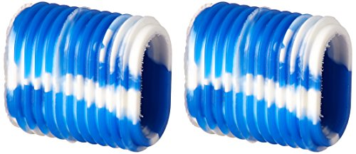 Reel Grip 1149 Reel Handle Cover, Blue and White Tie Dye Finish (Fishing Reel Handle Grips)