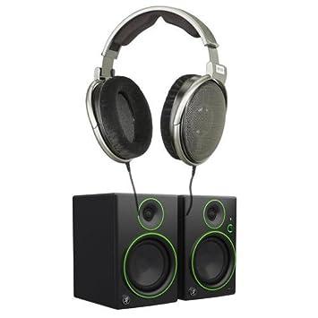 Sennheiser HD 650 audiófilo Auriculares estéreo Hi-Fi dinámico – Bundle con Mackie cr5bt 5