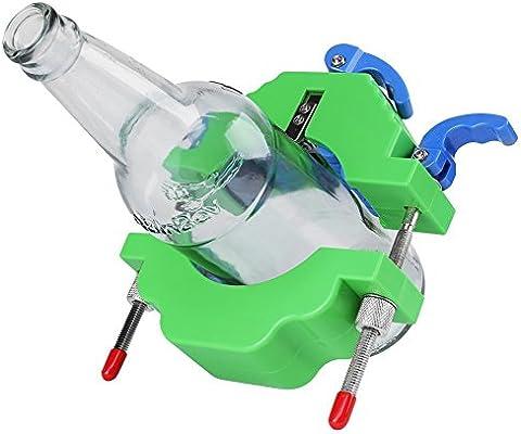 cortador de botellas y guantes de vidrio a prueba de cortes Herramienta para cortar botellas papel de lija impermeable