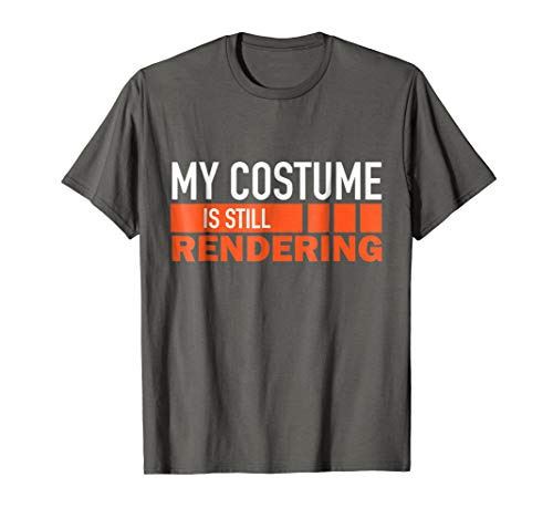 Funny Rendering Video Editing Geek Halloween Shirt Costume -