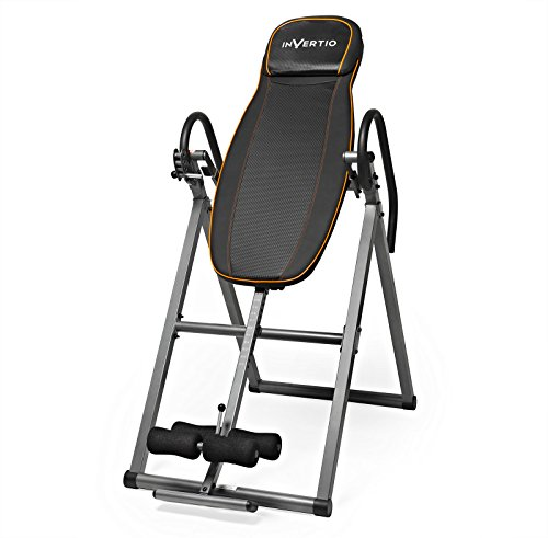 Invertio Inversion Table Back Stretching Machine (Gravity Boots Table Inversion)