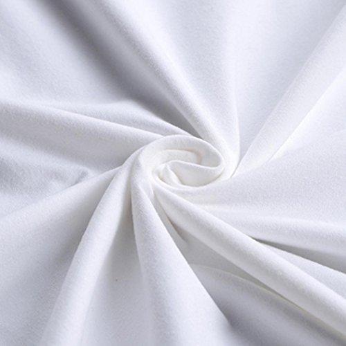 T Maniche maglietta Modale shirt Da Bianco Magliette Corta Luoluoluo Corte 3d A Manica ,bianco Uomo Stampa Uomo qnwWTRwIv