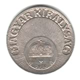 1936-BP Hungary 10 Filler Coin KM#507
