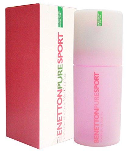 Benetton Pure Sport By Benetton For Women. Eau De Toilette Spray (Sport Woman Eau De Toilette)