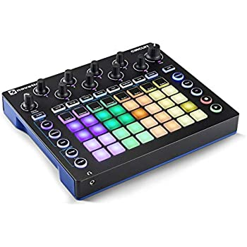 novation circuit drum machine pad controller grid based groove box with 1 year free. Black Bedroom Furniture Sets. Home Design Ideas