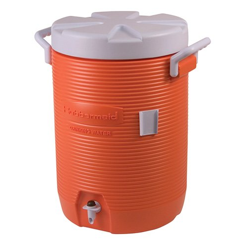 Rubbermaid Home Products 1840999 Water Coolers, 5 gal, Orange by Rubbermaid