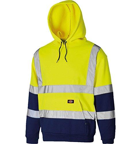 hombre 21fashion en de con Sudadera larga Sudadera capucha o con tama color de para un manga amarillo marino azul naranja capucha r0rTq