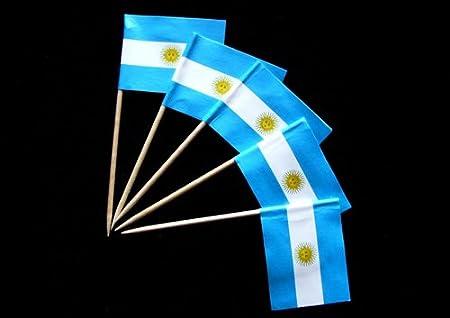 Zahnstocher : Argentinien 1000er Packung Everflag 331209-1000