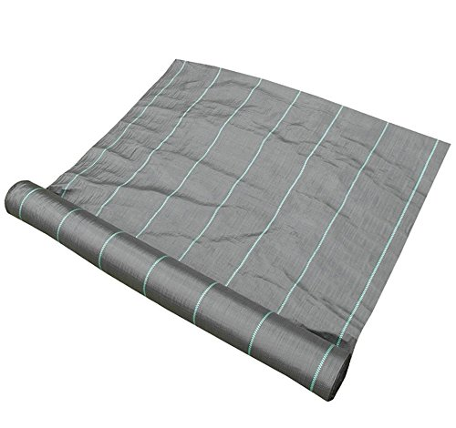 Synturfmats Weed Control Fabric 4'x300' Heavy Duty Weed Barrier Landscape Fabric Membrane Ground Cover, UV Resistant