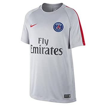 Nike Psg Y Nk Dry Sqd Ss Camiseta de Manga Corta París Saint-Germain Fc
