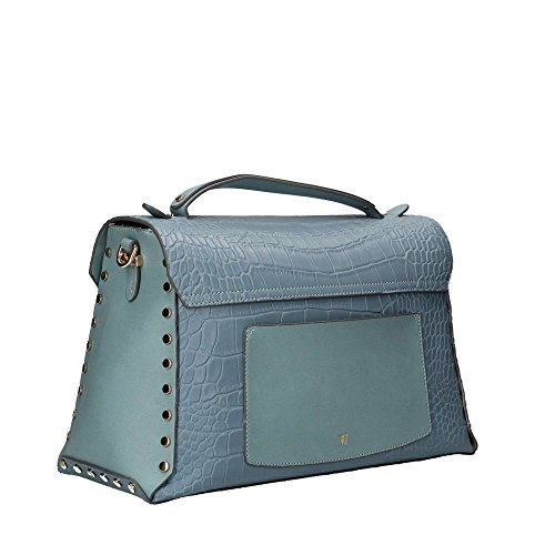 Trussardi Jeans 75B00328 Borse a mano Donna Blu