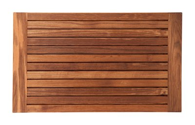Teak Bath Mat with Framed Edges (30'' x 18'') by Teakworks4u