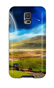 New Style Awesome Defender Tpu Hard Case Cover For Galaxy S5- Surrounding Calm