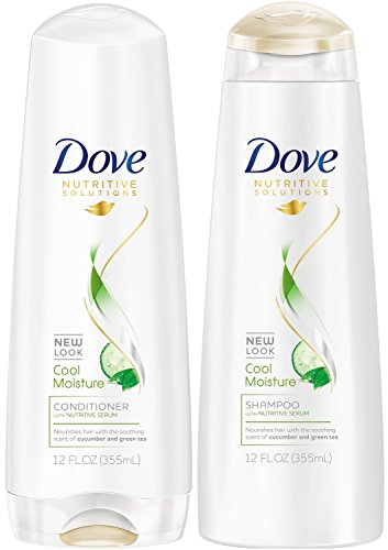 Dove Damage Therapy Cool Moisture Shampoo (12 oz) and Conditioner (12 oz)