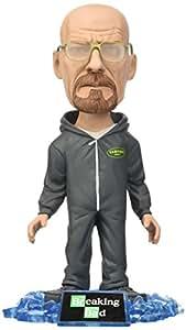 Breaking Bad - Figuras de Acción Walter blanca con la cabeza oscilante, versión dividida Vamanos Plagas
