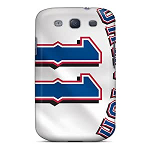 Shock Absorption Cell-phone Hard Cover For Samsung Galaxy S3 (OJJ1249Hrzu) Custom Stylish Texas Rangers Pictures
