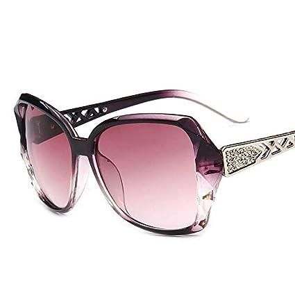 SQYJING Gafas de Sol para Gafas de Sol Vintage con Montura ...
