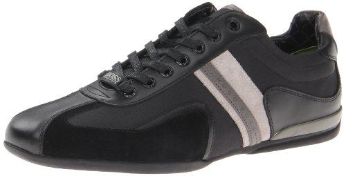 BOSS Green by Hugo Boss Men's Space Up Fashion Sneaker,Black,7 M US