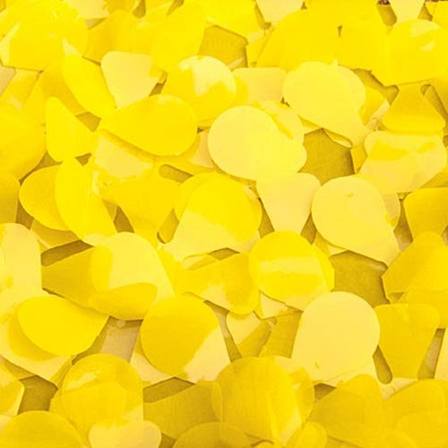 Yellow Vinyl Floral Sheeting by Victory Corps from Victory Corps
